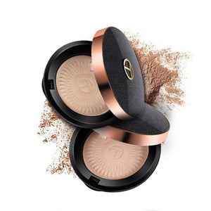 O.TWO.O Natural Makeup Palette Face Powder Foundations Oil-control Brighten Concealer Whitening Pressed Powder With Puff
