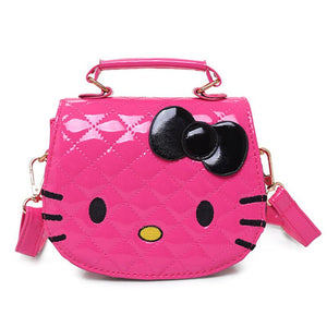 Hello Kitty Bowknot Handbag Shoulder Bag kids Tote Girls Shoulder Bags