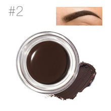 Load image into Gallery viewer, Focallure Makeup Women Eye Tint Brow Pigments With Brush Kit Black Brown Color Waterproof Eyebrows Gel