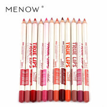 Load image into Gallery viewer, Menow Brand Makeup 12Colors/Set Waterproof Lip liner Pencil Women's Professional Long Lasting lipstick liner Tools P14002