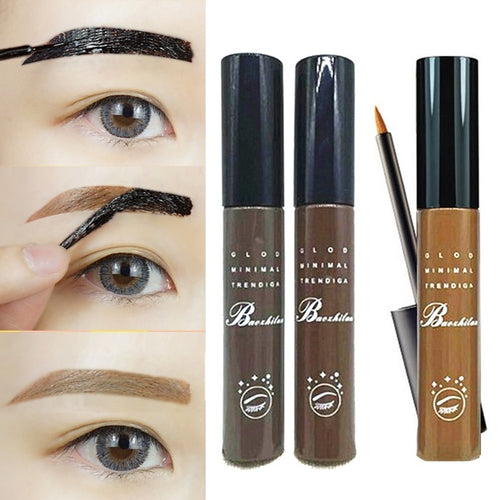Professional Waterproof Eyebrow Makeup Kits Eye Tint My Brows Gel Make Up 3 Color Grey Coffee Brown Henna Tattoo Eyebrow Gel