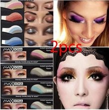 Load image into Gallery viewer, 2pcs Instant Eyeshadow sticker, magic eyes tattoo ,cosmetic makeup eye shadow sticker Easy to Wear 42 Different styles