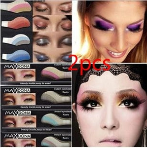 2pcs Instant Eyeshadow sticker, magic eyes tattoo ,cosmetic makeup eye shadow sticker Easy to Wear 42 Different styles