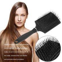 Load image into Gallery viewer, Hair Massage Comb Hairbrush Bristle&Nylon Women Wet Curly Hair Brush for Salon Hairdressing Styling Tools