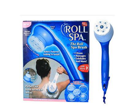 VILEAD  ROLL SPA Creative Thailand Massage Electric Bath body scrubber 5 Features Shower Heads Body Cleaning Set TV Products Shower/Bath Care