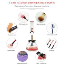 Load image into Gallery viewer, 20set Electric makeup brushes cleaning Automatic washing machine Foundation brush cleaner and dryer beauty cosmetic Brush tool
