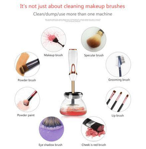 20set Electric makeup brushes cleaning Automatic washing machine Foundation brush cleaner and dryer beauty cosmetic Brush tool