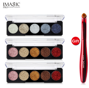 IMAGIC Glitter EyeShadow Buy 3 Get 1 Gift 3pcs/set 5 Colors Glitters