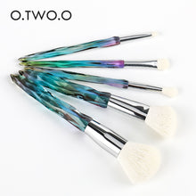 Load image into Gallery viewer, O.TWO.O 5pcs Diamond Makeup Brushes Set Cosmetics Powder Eye Shadow Foundation Blush Blending Make Up Brush Maquiagem