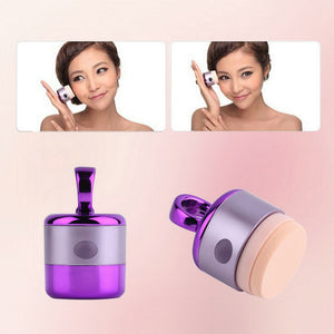 3D Electric Smart Foundation Face Powder Vibrator Puff Sponge Cosmetic Beauty Spa Tool brush