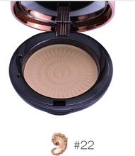 Load image into Gallery viewer, O.TWO.O Natural Makeup Palette Face Powder Foundations Oil-control Brighten Concealer Whitening Pressed Powder With Puff