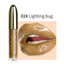Load image into Gallery viewer, Lips Makeup Gloss Magic Lipstick Glitter Lip Black Purple Blue Gold Long Lasting Make Up Waterproof Metallic Liquid Lipsticks