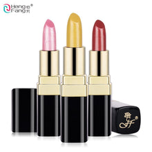Load image into Gallery viewer, Long-lasting Silky Temptation Lipstick 12 Colors Nutritious Beauty Lips Makeup Brand HengFang 3.5g #H9291