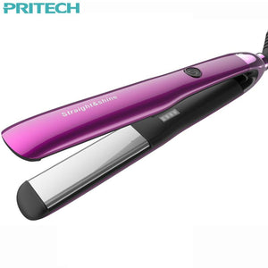 Pritech Hair Styling Tools 4 Speed Temperature Control Professional Hair Straightening Irons Straightener