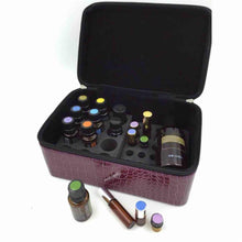 Load image into Gallery viewer, 72 Compartments Essential Oil Storage box Portable Essential Oil Bottle Organizer Jewelry Collecting Case Makeup Container makeup bag