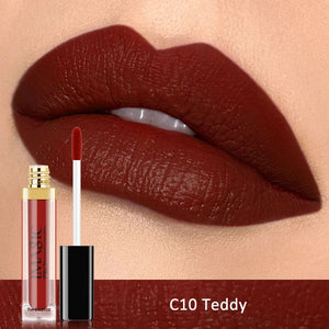 IMAGIC Waterproof Lip Gloss Matte Liquid Lipstick Matte Lipstick Lipkit Cosmetics Makeup Nude 12color