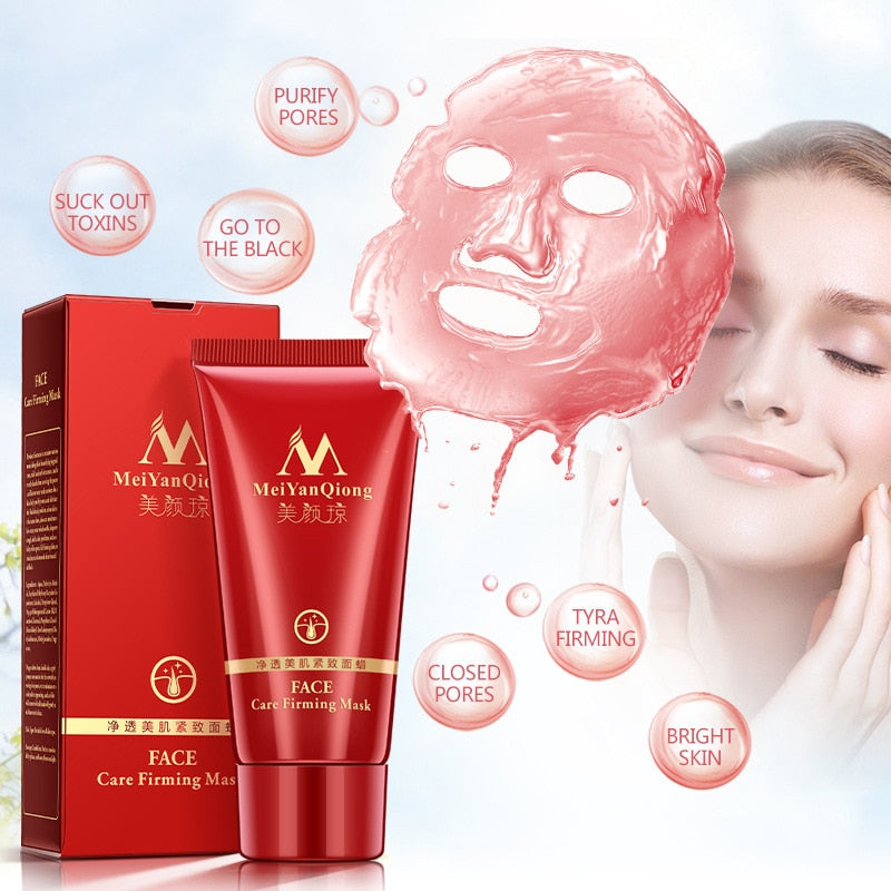 High Quality Brand Acne Treatment Face Mask  Whitening Deep Cleansing Bamboo Charcoal Black Head Peel Off Face Care Firming Mask