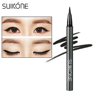SUIKONE Professional Waterproof Women Eyeliner Pencil Black Long Lasting Natural Easy To Wear Eyeliner Liquid Pencil hot sale
