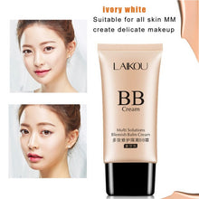 Load image into Gallery viewer, LAIKOU Brand Makeup Face Foundation Beauty 50G BB Cream Concealer Isolation Sunscreen Whitening Makeup Blemish Waterproof Cream