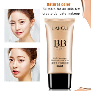 LAIKOU Brand Makeup Face Foundation Beauty 50G BB Cream Concealer Isolation Sunscreen Whitening Makeup Blemish Waterproof Cream