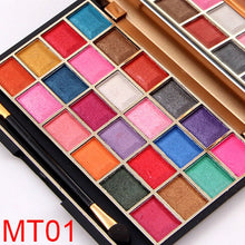Load image into Gallery viewer, Girl Shining Matte Eyeshadow makeup Palette Eye Shadow Cosmetic Beauty Tool 24 Colors Bright Or Dark Color For Women Lady   FM88