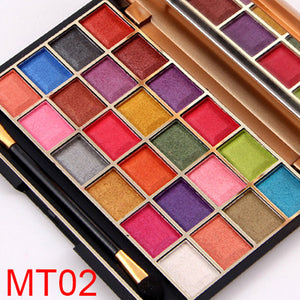 Girl Shining Matte Eyeshadow makeup Palette Eye Shadow Cosmetic Beauty Tool 24 Colors Bright Or Dark Color For Women Lady   FM88