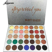 Load image into Gallery viewer, 35 Color New Face Makeup Shimmer Glitter Eyeshadow Palette Highlight Shadow Pressed Powder Beauty Makeup Maquiagem Eyshadow