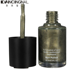 15ml Magnetic Cat Eye Nail Polish Salon 3D Nails Gel Lacquer Magnet 10 Beautiful Color With Magnetic Model For Manicure Art