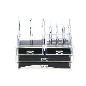 Makeup Organizer Acrylic Storage Box For Jewelry Container Organizer with Drawer Toiletry Cosmetic Storage Box Holder