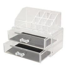 Load image into Gallery viewer, Makeup Organizer Acrylic Storage Box For Jewelry Container Organizer with Drawer Toiletry Cosmetic Storage Box Holder
