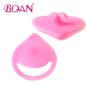 10pcs/Lots Supe soft Silicone brush cleaner Random Color Cosmetic Make Up Washing Cleaning Brush Deep Mini Washboards for Makeup