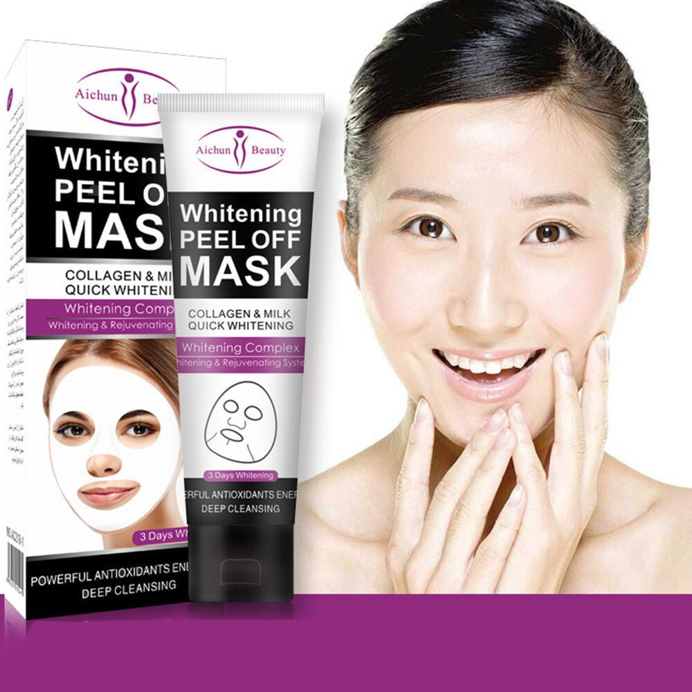 Milk Deep Cleansing  Peel Off Facail Face Mask Remove Blackhead Facial Mask