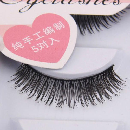 5 Pair Natural Look  False Eyelashes  Voluminous  Eyelashes Extension Makeup