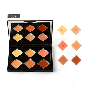 Highlighter Face Concealer Matte Contour Kit Concealer Palette Bronzer Makeup