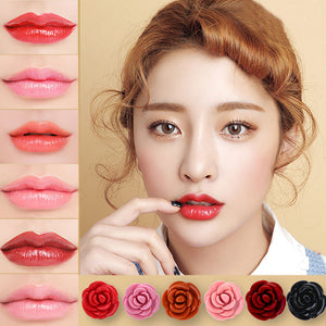 Square Lasting Waterproof Lip Soft  Moisturizing Lipstick Lip Gloss Makeup