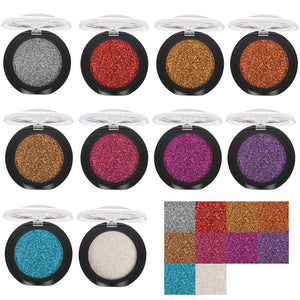 20 Colors Eye Shadow Diamond Makeup Pearl Metallic Eyeshadow Palette Makeup Avai