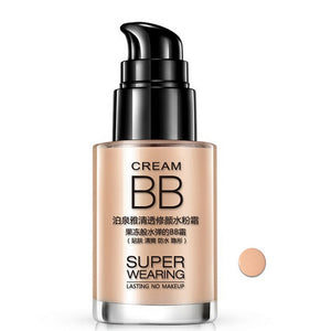 30ml BB Cream Makeup Base Whitening Moisture Oil-control Waterproof Liquid Foundation Concealer Beauty Cosmetics Tool Best Gift