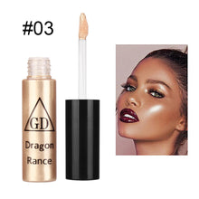 Load image into Gallery viewer, Contour Brightening Liquid Concealer Gloss Makeup Nude 5 Shades Moisturizin