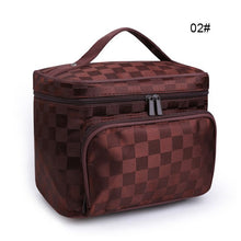 Load image into Gallery viewer, Makeup Tool Storage Bag Makeup Tool Storage Bag Large Makeup Bag Cosmetic Box Jewellery Vanity Case Bag Beauty Toiletry Container