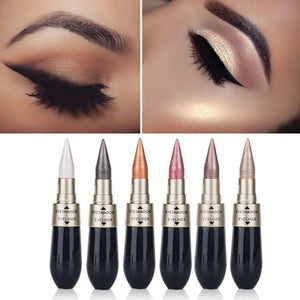 Double Head 1pcs Eyeshadow & Eyeliner Pen Long Lasting Quick Dry Waterproof Beauty Makeup Cosmetic Tool Sweat-proof Eye Makeup