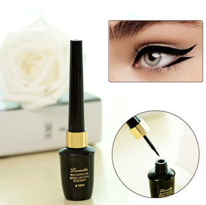 New 2017 Eyeliner Brand Makeup for Women Easy to Wear Long Lasting Pigment Waterproof Black Eye Liner Liquid Makeup
