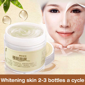 Anti-oxidant Sleep Face Mask Women Facial Skin Lightening Anti-aging Whitening Moisturizing Mask Face Skin Care Cosmetic Beauty Mask
