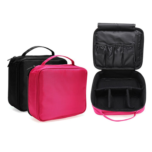 Portable Waterproof Travel Cosmetic Bag Makeup Bag Storage Organizer Bag Toiletry Wash Bags Pouch Beauty Case for Women Gift