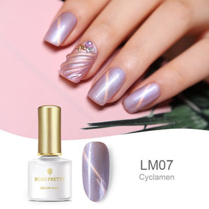 BORN PRETTY Shell Mermaid Cat Eye Nail Gel 3D Magnetic Glitter UV Gel Lacquer Soak Off Gel Nail Art Nail Polish Gel