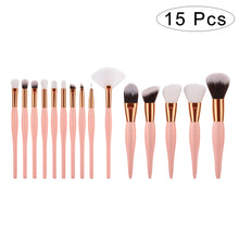 Load image into Gallery viewer, 8 Pcs Makeup Brush Set Professional Cosmetics Makeup Brushes Synthetic Blending Blush Brushes