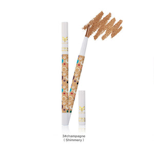 HUAMIANLI 9 Colors Makeup Eyeliner Pencil Waterproof Eyebrow Beauty Pen Eye Liner Colorful Shimmer Giltter Eyeshadow Pencil