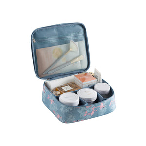 Women Cosmetic Makeup Organizer Bag Folding Travel Makeup Organizer Bag