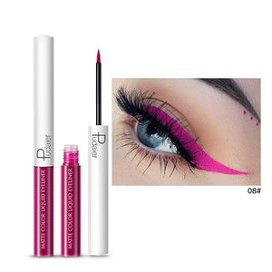 Professional 15 Colors Eyeliner Makeup Liquid Eye Liner Pencil Waterproof Black/White Eyeliner Cosmetics Maquiagem delineador