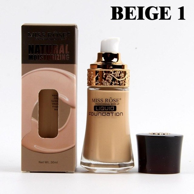 Liquid foundation cylindrical glass bottle Concealer isolation base liquid