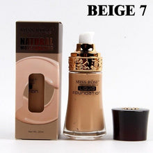Load image into Gallery viewer, Liquid foundation cylindrical glass bottle Concealer isolation base liquid